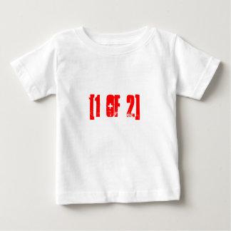 [1 de 2] chemises pour des jumeaux t-shirt pour bébé