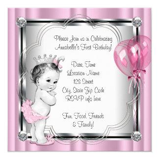 1. Geburtstag Party Prinzessin- Ankündigungen
