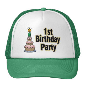 1. Geburtstags-Partyhut Tuckercaps