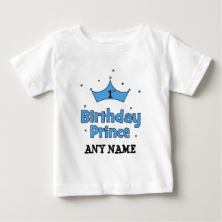 1. Geburtstags-Prinz Baby T-shirt