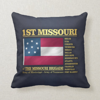 1. Missouri-Infanterie (BA2) Kissen