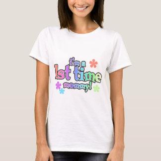 1. Zeit Mama-Regenbogen T - Shirts und Geschenke