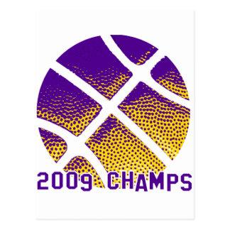 2009 Champions Postkarte
