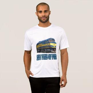 200 Tonnen Spaß-Alaska Eisenbahn T-Shirt