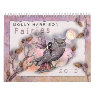 2013 Fee-Kalender durch Molly Harrison Kalender