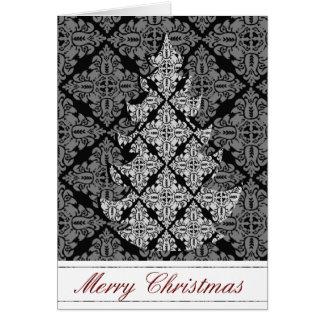 2013 verzierter Luxusweihnachtsbaum Karte