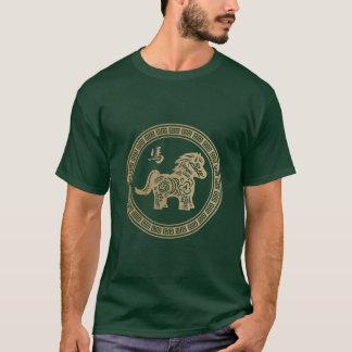 2014-jährig vom grünen hölzernen Pferd T-Shirt