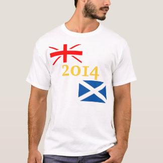 2014 Scottish-Unabhängigkeits-T-Shirt T-Shirt