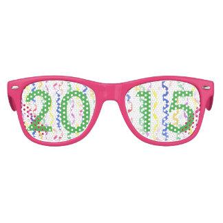 2015 neues Jahr-Party-Ausläufer Kinder Sonnenbrillen