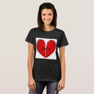 2016 brach mein Herz T-Shirt