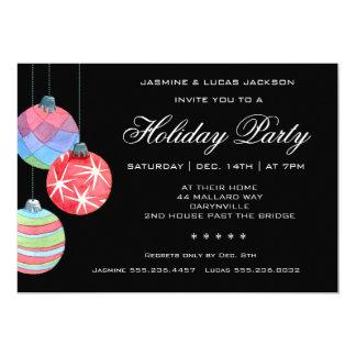 2016 festlicher Feiertag oder WeihnachtsParty 12,7 X 17,8 Cm Einladungskarte