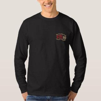 2016 Gewohnheit gesticktes langes Hülsen-Shirt Besticktes Langarmshirt