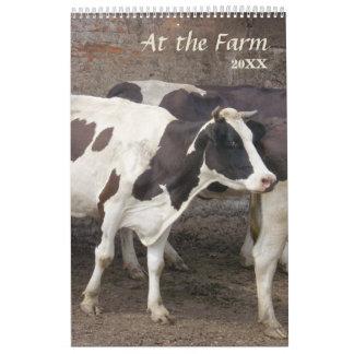 2017 am Bauernhof-Kalender Wandkalender