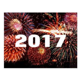 2017 Feuerwerks-Postkarte Postkarten