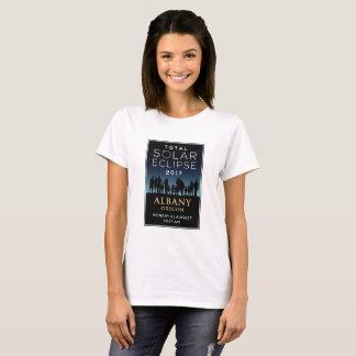 2017 GesamtSonnenfinsternis - Albanien ODER T-Shirt