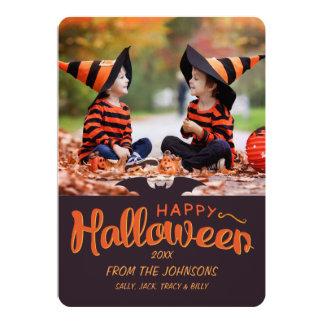 2017 glückliche Halloween Gewohnheit Karte