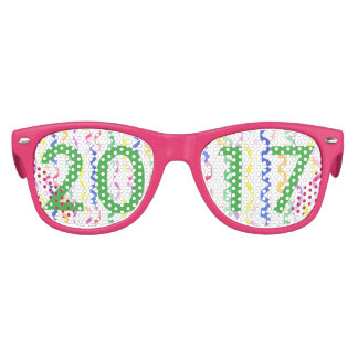 2017 neues Jahr-Party-Ausläufer Kinder Sonnenbrillen