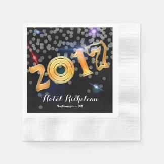 2017 Silvesterabend-Feier Papierserviette