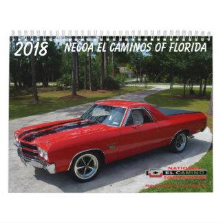 2018 #6 NECOA EL Caminos von Florida Abreißkalender