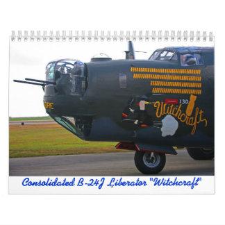 2018 B-24J Befreier-Kalender Abreißkalender