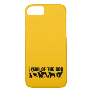 2018 Chinese New Year of The Dog Yellow iPhone C