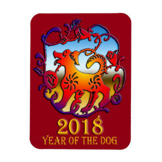 2018-jährig vom Hund Magnet