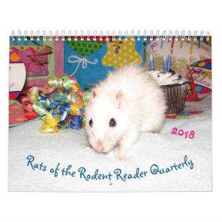 2018 RATTEN des Nagetier-Leser-Kalenders B Kalender