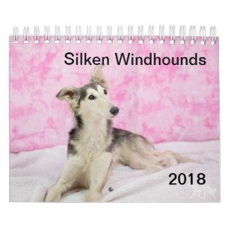 2018 seidenes Windhounds (anderes) Abreißkalender
