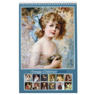 2018 Vintager Kinderwandkalender Abreißkalender
