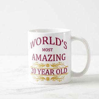 20. Geburtstag Kaffeetasse