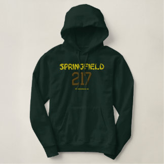 217 Springfield Bestickter Hoodie