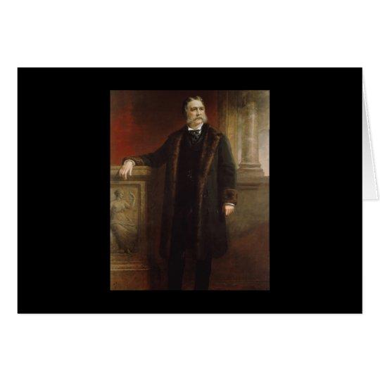 21 Chester A. Arthur Karte