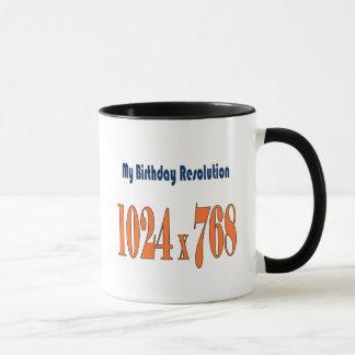 21. Geburtstagsgeschenkidee Tasse