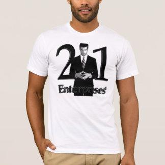 21 Unternehmens-Logo-T - Shirt