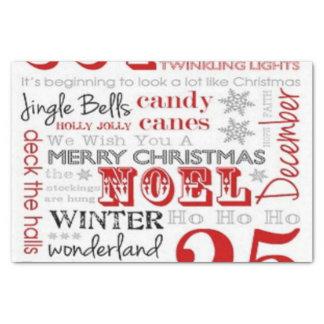 25 Tage Weihnachtsseidenpapier Seidenpapier