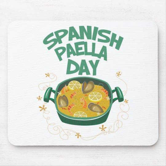 27. März - spanischer Paella-Tag Mousepad