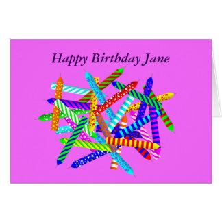 28. Geburtstags-Geschenke Karte