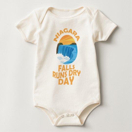 29. März - Niagara Falls lässt trockenen Tag Baby Strampler