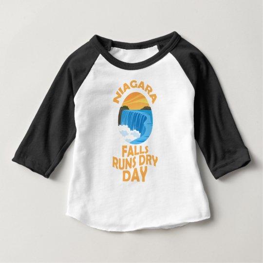 29. März - Niagara Falls lässt trockenen Tag Baby T-shirt