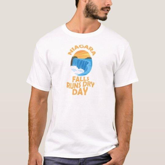 29. März - Niagara Falls lässt trockenen Tag T-Shirt