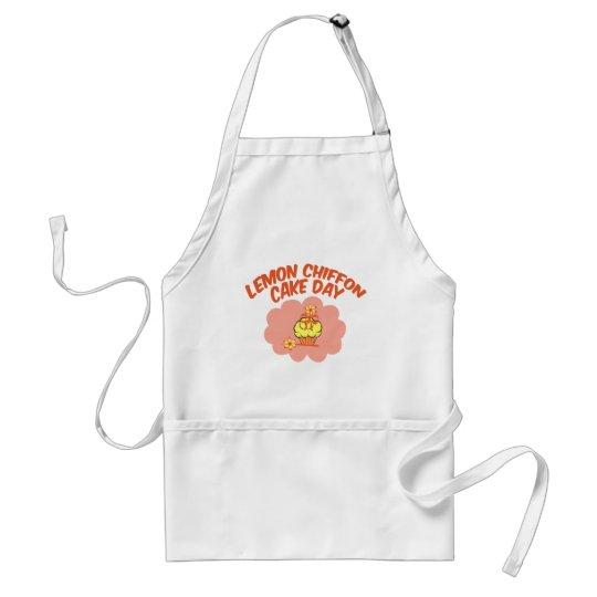 29. März - Zitronen-Chiffon- Kuchen-Tag Schürze