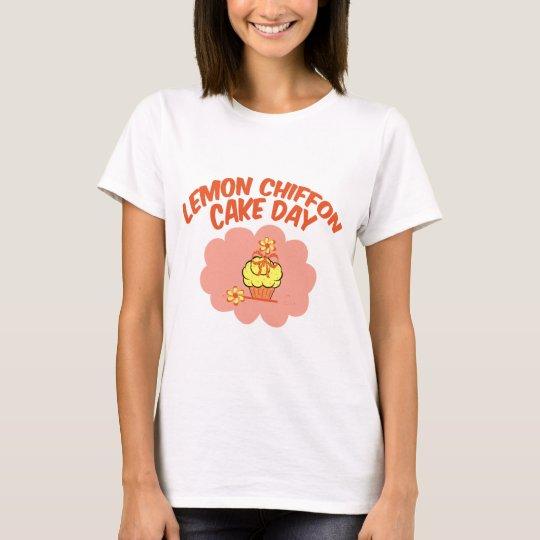 29. März - Zitronen-Chiffon- Kuchen-Tag T-Shirt