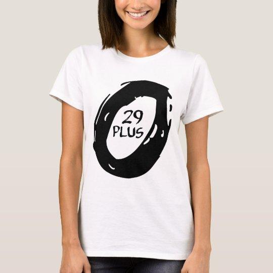 29er plus Fahrrad T-Shirt