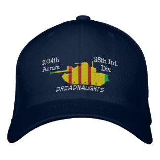 2/34th Rüstung 25. Inf. Div. M48 gestickter Hut Bestickte Mütze