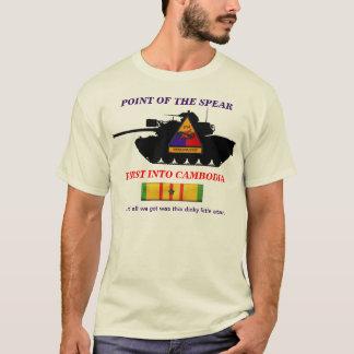 2/34th Rüstung zuerst in Kambodscha-Shirt T-Shirt