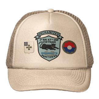 2/47th Infanterie-neue Panther-Flecken-Kappe Tuckercaps
