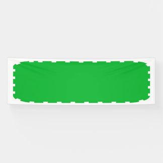 2,5' x 8' Schablone der Fahnen-DIY addieren Banner