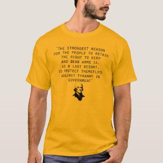 2. Änderung Thomas Jefferson T-Shirt