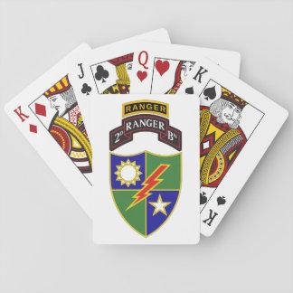 2. Bataillon - 75. Spielkarten des Förster-w/Tab