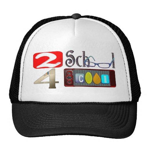 2 cool de l'école 4 casquettes